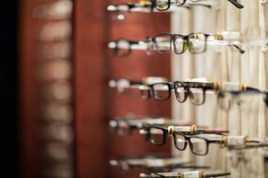 Picture of glasses at David Eye Center